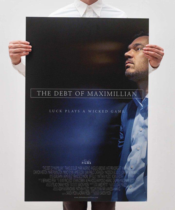 The Debt Of Maximillian - Bravo Gloss/Matte Poster